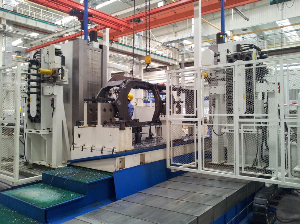 SHPC系列雙面動柱臥式加工中心