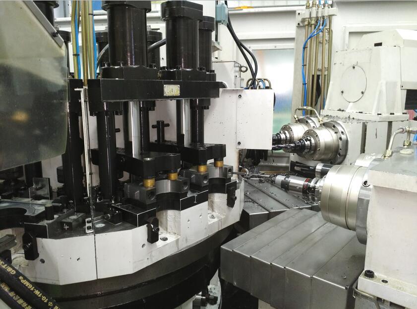 多工位圆盘式组合机床